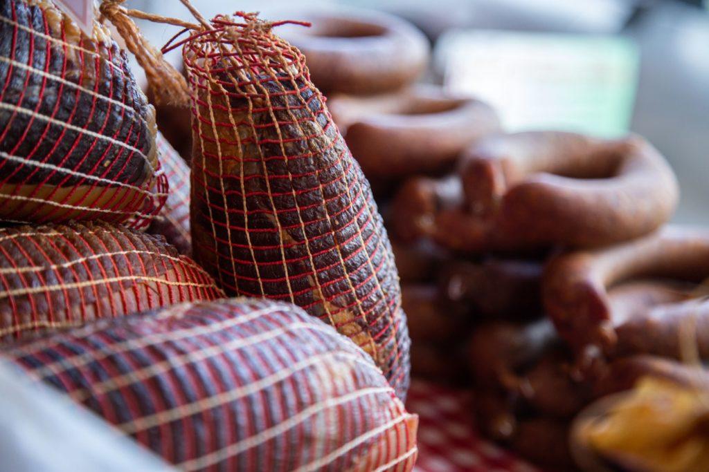 La noix d'Ardenne la partie la plus petite et la plus maigre du jambon